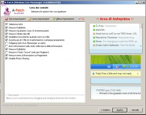 aPatch MSN Windows Live Messenger 2009