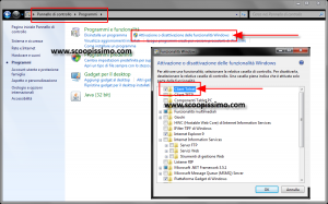 Attivare comando Telnet su Windows 7 e Windows Vista